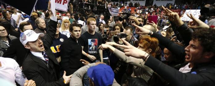 violence-trump-rally